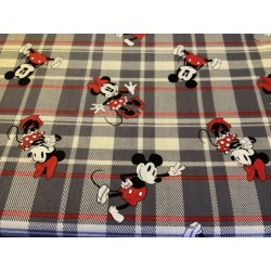 Mickey and Mini Plaid By...