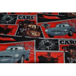 Cars II this Fabric is sold...