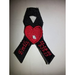 In Memory Ribbon Emily Patch