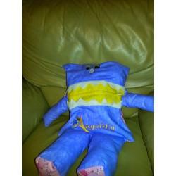 Pajama eater Purple & Yellow