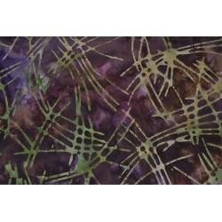 Batik purple w/field sold...