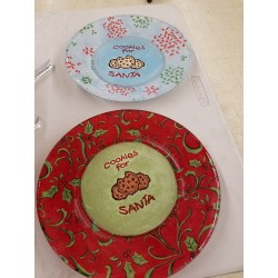 Cookies for Santa Plates